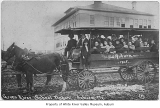 Central School's Green River wagon, Auburn, 1908