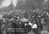 Crowd at Bloedel Donovan picnic, Bloedel-Donovan Lumber Mills, July 22, 1922