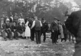 Crowd of people at Bloedel-Donovan Lumber Mills employees picnic, July 22, 1922