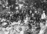 Crowd at picnic, Bloedel-Donovan Lumber Mills employees picnic, July 22, 1922