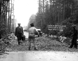 Road construction crew working on the Bothell road, Washington, May 8, 1912