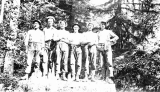 Swedish loggers from the Saginaw Timber Co., Aberdeen, Washington, 1918