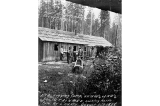 E.G. Englesh logging camp near Arlington, Washington, August 2, 1898