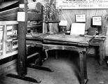 Ramage printing press possibly on display in the University of Washington Museum, Seattle,...