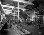 Puget Mill Co. machine shop interior, Port Gamble, Washington,  December 1918