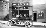 Marks Garage, unidentified location, probably Pacific Northwest, n.d.