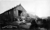 Fred W. Woodaman's woodworking factory, location unknown