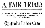Fair trial? : a record of the prejudice and passion that