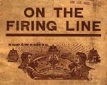 On the firing line : extracts from the report of the General Executive Board to the Seventh Annual...