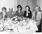 Helen Hardin Jackson (second from right) sitting at a table during a luncheon for Congressional...