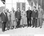 Congressman Henry M. Jackson and members of the U.S. Congressional delegation with U.S. Navy...
