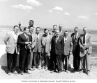 Senators Henry M. Jackson and Warren G. Magnuson with members of the Kennewick Irrigation Division...