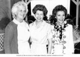 Senator Henry M. Jackson's wife, Helen Hardin, and Vice President George H. W. Bush's wife,...