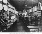 Red Front clothing store interior, owned by Phillip Brenner, Bellingham, ca. 1910