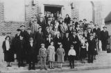 Temple Adath Israel building dedication, Centralia, Washington, 1930