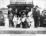 Markow Family at opening of Hillman City, Seattle, ca. 1903