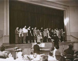 Temple Beth Am religious school students performing at event, Seattle, Washington, ca. 1959
