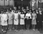 Temple Beth Am confirmation class, Seattle, Washington, 1966