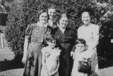 Treiger and Ketzlach family members, 28th Ave. S. and S. Washington St., Seattle, Washington, ca....