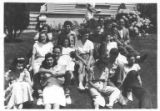 Aleph Zadik Aleph (AZA) convention picnic at Lake Lucerne, 1940