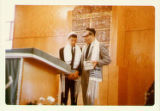 Jerald (Jerry) Weiner Bar mitzvah ceremony at Temple Beth Israel in Aberdeen,  June 6, 1964