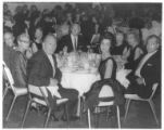 Elsie and Harry Deutsch at a medical convention dinner in Vancouver, British Columbia, ca....