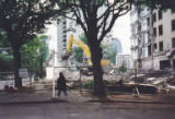 Demolition of the Westlund building, 1999
