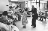 Caroline Kline-Galland Home residents dancing, September 11, 1975