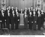 B'nai B'rith officers and directors installation, Olympic Hotel, Seattle, 1957
