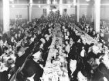Banquet welcoming Rabbi Philip Langh, the new rabbi at Herzl Conservative Congregation, 1932