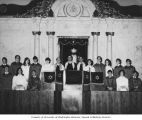 Herzl Synagogue Confirmation Class, Seattle, 1968