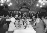 Luncheon at Rathaus in Vienna, September 25, 1984