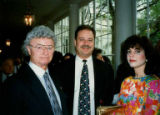 Henry Friedman, Rob Friedman, and Debbie Benezra at opening of Holocaust Museum in Washington...