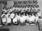 Group of Sigmas, a Jewish High School Sorority, ca. 1957