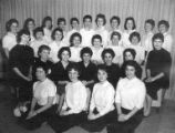Group of Dai-Bons Jewish High School Sorority members, 1959
