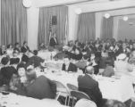 Jewish National Fund annual Chanukah banquet at the Norselander Restaurant, Seattle, January 1964