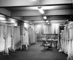 Seattle Curtain showroom interior in the Prefontaine Building, 3rd Ave. and Yesler St., Seattle,...