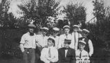 Carnival officials at Collins Playfield, Seattle, August 1912