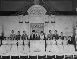 Herzl Sunday school graduation class, Herzl Congregation, Seattle, 1944