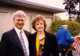 Henry Friedman and Washington State Superintendent of Public Instruction Judith Billings gathered...