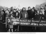 Seattle Action for Soviet Jewry participants in Freedom Sunday Mobilization for Soviet Jewry rally...