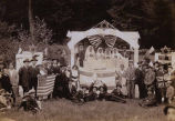 Young Zionist (Tzeirei Zion) picnic, probably Fortuna Park, Seattle, ca. 1915