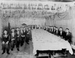 Sigma Alpha Mu (SAM) Initiation Banquet, Seattle, January 25, 1930
