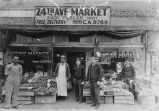 24th Avenue Market exterior, 2401 Yesler Way, Seattle, 1934