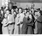 Alpha Epsilon Phi sorority fall dance, University of Washington, Seattle, Fall 1946