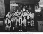 Congregation Ezra Bessaroth boys choir, Seattle, 1931