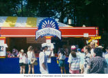 Brenner Brothers booth at the Bite of Seattle, Seattle, ca. July 1994-1995