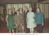 Bar Mitzvah of Robert Rogers (center) with Rogers and Marshin family members, Brooklyn, New York,...