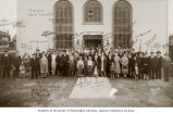 Temple Beth Israel dedication, Aberdeen, Washington, 1930