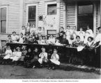 Bikur Cholim Sewing School, 13th Ave. and S. Washington St., Seattle, 1907